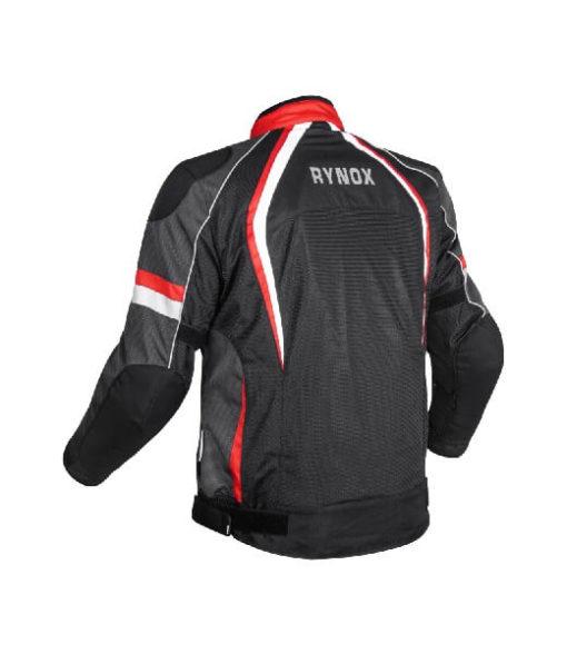 Rynox Tornado Pro V3 Black Red Riding Jacket 1