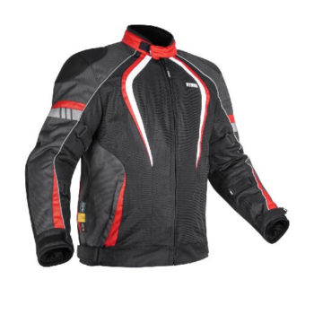 Rynox Tornado Pro V3 Black Red Riding Jacket