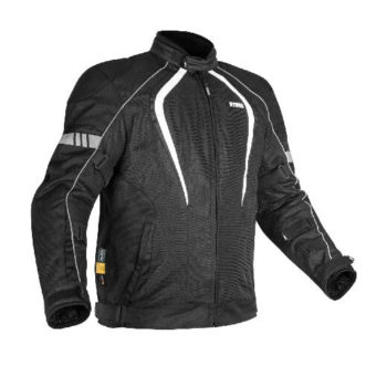 Rynox Tornado Pro V3 Black White Riding Jacket