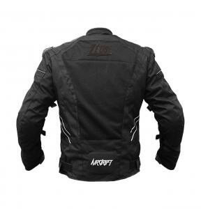 Zeus Airdrift XPS Black Riding Jacket 1