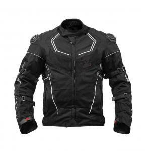 Zeus Airdrift XPS Black Riding Jacket