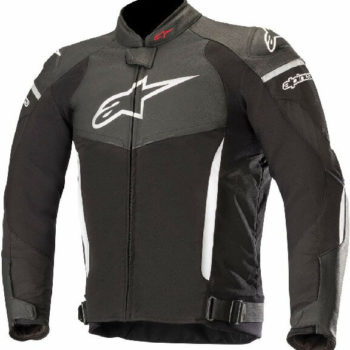 Alpinestars SP X Black White Leather Riding Jackets
