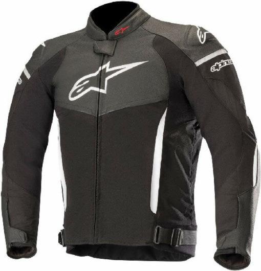 Alpinestars SP X Black White Leather Riding Jackets