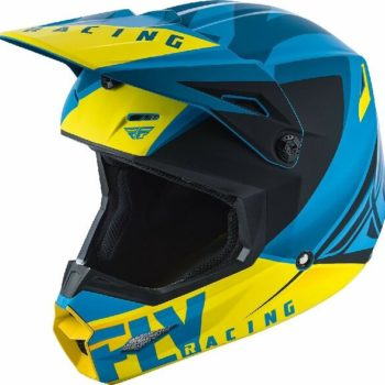 Fly Racing Elite Vigilant Matt Blue Black Motocross Helmet