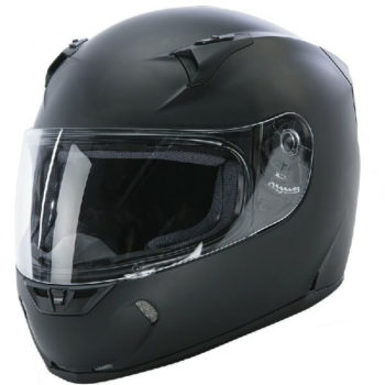 Fly Racing Revolt Flat Matt Black Full Face Helmet