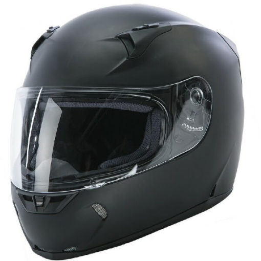 Fly Racing Revolt Flat Matt Black Full Face Helmet