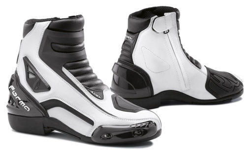 Forma Axel Black White Riding Boots