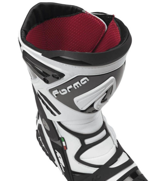 Forma Ice Pro Flow White Black Riding Boots 3