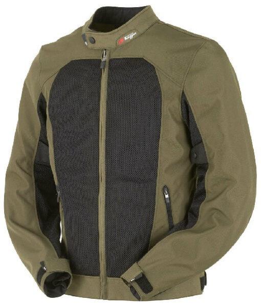 Furygan Genesis Mistral Lady Evo Green Riding Jacket 2
