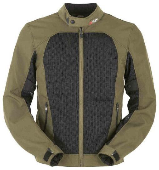 Furygan Genesis Mistral Lady Evo Green Riding Jacket