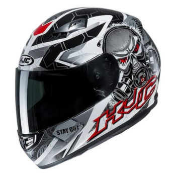 HJC CS 15 Rafu MCi Matt White Black Red Full Face Helmet