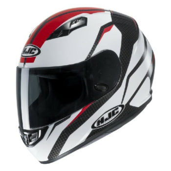 HJC CS 15 Sebka MC1 Matt White Red Black Full Face Helmet