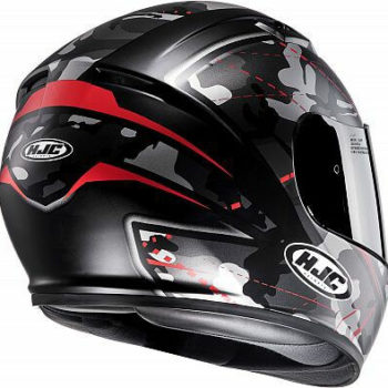 HJC CS 15 Songtan MC1SF Matt Camo Grey Red Full Face Helmet 1