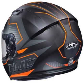 HJC CS 15 TRION MC6HSF Matt Black Orange Grey Full Face Helmet 1