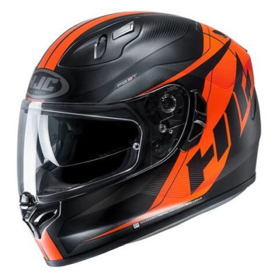 HJC FGST Crono MC7SF Matt Black Orange Full Face Helmet