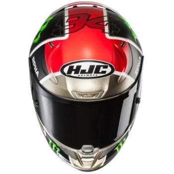 HJC RPHA 11 Jonas Folger Replica MC1SF Black White Red Silver Full Face Helmet 1