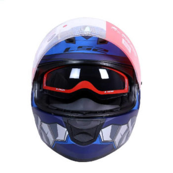 LS2 FF320 Angel Matt Blue Full Face Helmet 1