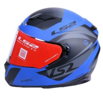 LS2 FF320 Damitry Matt Blue Black Full Face Helmet