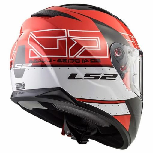 LS2 FF320 Stream Evo Kub Matt Red Black Full Face Helmet 1