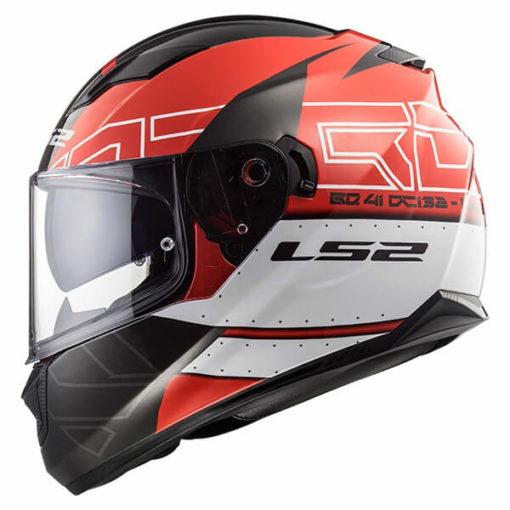 LS2 FF320 Stream Evo Kub Matt Red Black Full Face Helmet