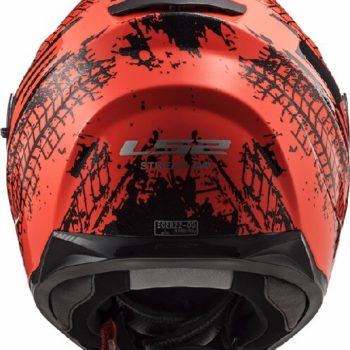 LS2 FF320 Stream Evo Lava Matt Fluorescent Orange Full Face Helmet 1
