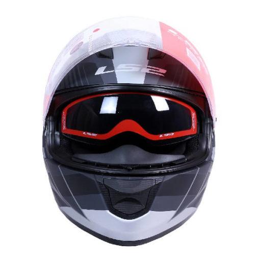 LS2 FF320 Trepid Matt Grey Full Face Helmet 1