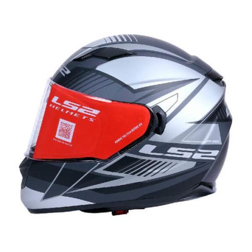 LS2 FF320 Trepid Matt Grey Full Face Helmet