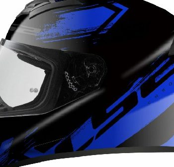 LS2 FF352 Chroma Matt Black Blue Full Face Helmet