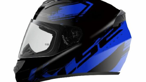 LS2 FF352 Chroma Matt Black Blue Full Face Helmet