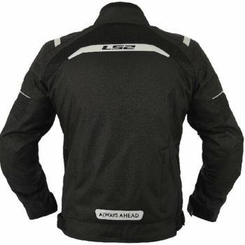 LS2 Teide Men All Season Black Riding Jacket 1