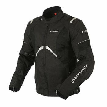 LS2 Teide Men All Season Black Riding Jacket