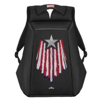 RoadGods Ghost Captain America Star Black Backpack