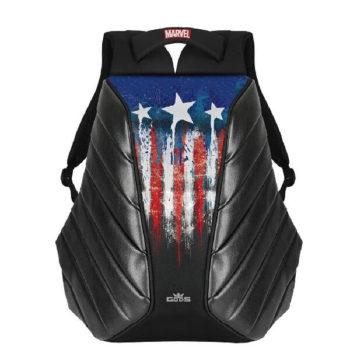 RoadGods Xator Captain America Black Backpack