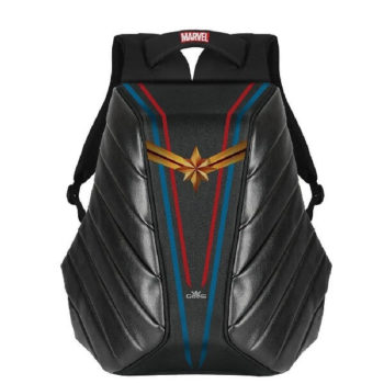 RoadGods Xator Captain Marvel Black Backpack