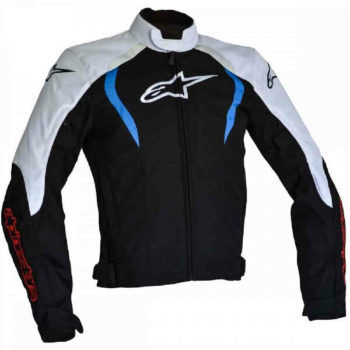 Alpinestars Alux Waterproof Black White Blue Jacket 2019 1