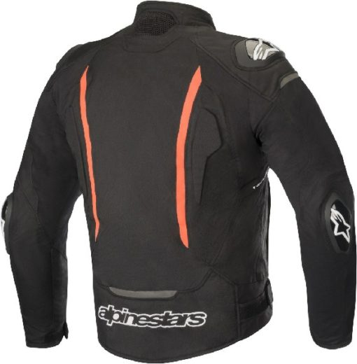 Alpinestars T GP Pro V2 Textile Black Fluorescent Red Riding Jacket 1