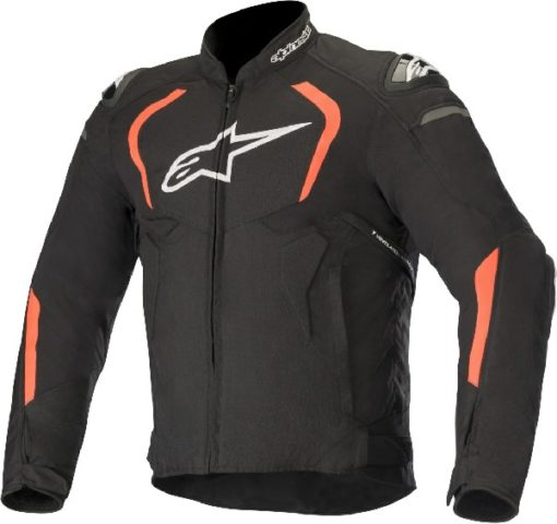 Alpinestars T GP Pro V2 Textile Black Fluorescent Red Riding Jacket