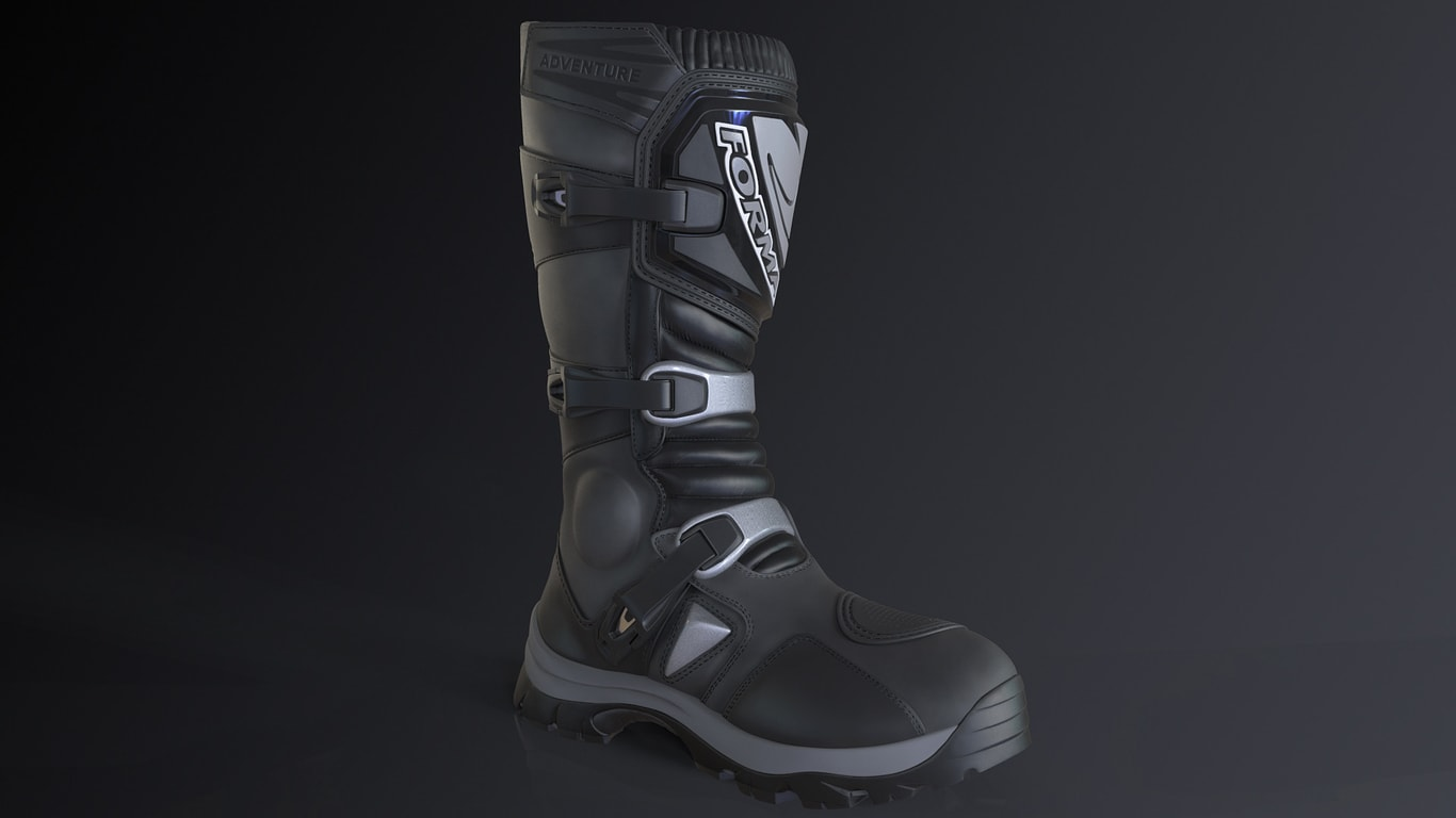 Forma Adventure Boots Black Banner