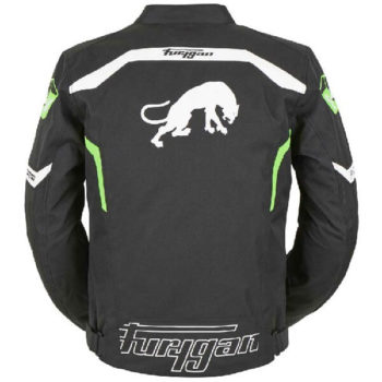 Furygan Arrow Vented Black White Fluorescent Green Riding Jacket 1