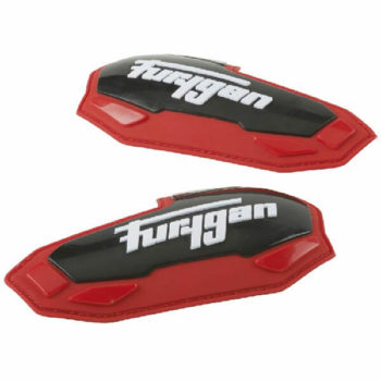Furygan Elbow Black Red Slider