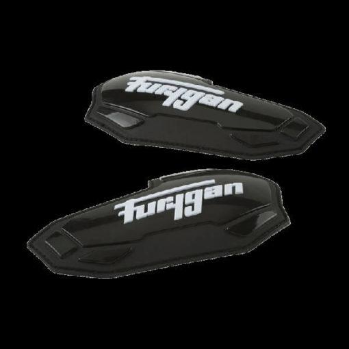 Furygan Elbow Black White Slider