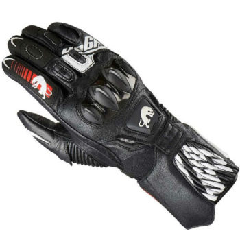 Furygan FIT R2 Black White Riding Gloves