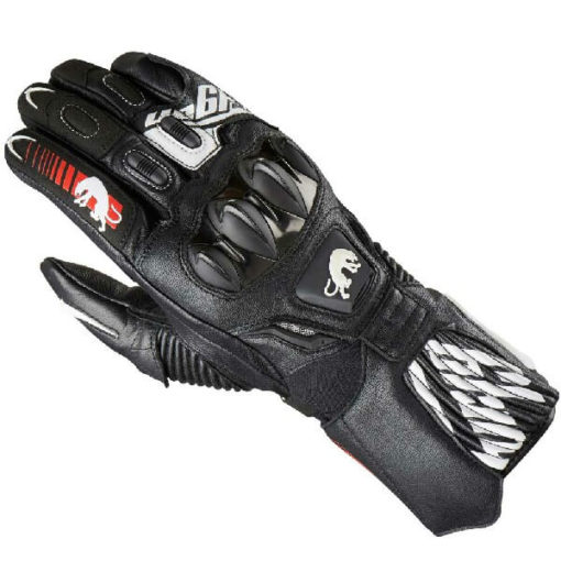 Furygan FIT R2 Black White Riding Gloves