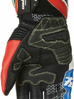 Furygan FIT R2 Zarco Blue White Red Riding Gloves 1