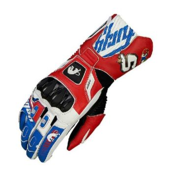 Furygan FIT R2 Zarco Blue White Red Riding Gloves