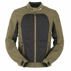 Furygan Genesis Mistral Evo Black Khaki Riding Jacket