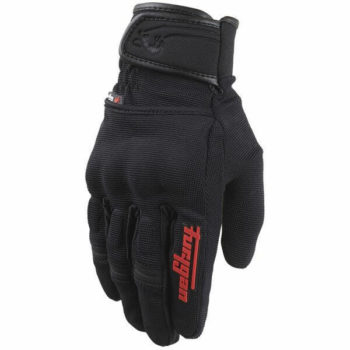 Furygan Jet Evo II Black Red Riding Gloves