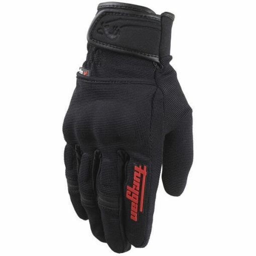 Furygan Jet Evo II Black Red Riding Gloves