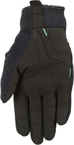 Furygan Jet Evo II Lady Black Fluorescent Green Riding Gloves 1