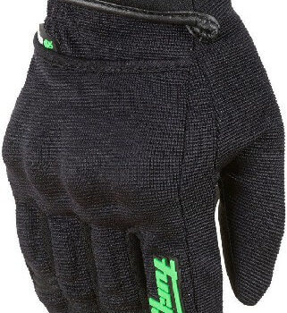Furygan Jet Evo II Lady Black Fluorescent Green Riding Gloves